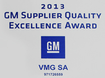vmg gm supplier excellence 2014